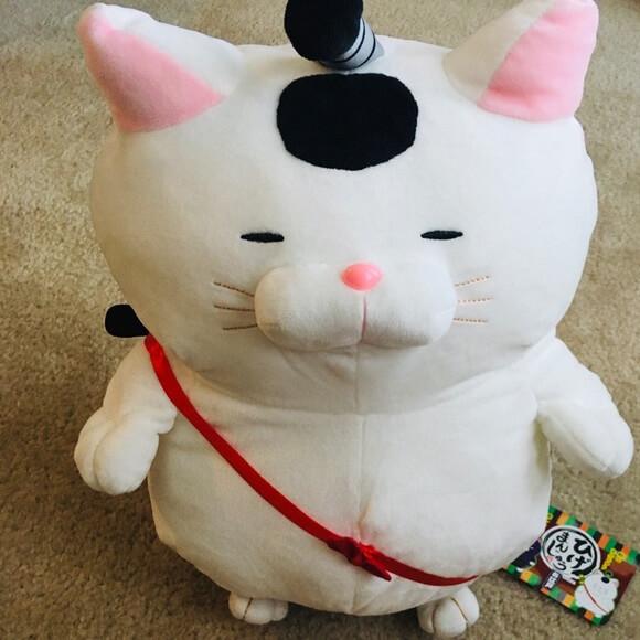 Samurai Cat Plushie