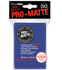 Ultra Pro: Standard Sleeves - Matte Blue (50ct)