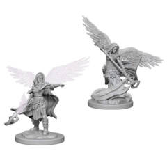 Dungeons & Dragons Nolzur`s Marvelous Unpainted Miniatures: Aasimar Female Wizard