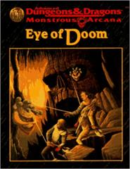 AD&D Monstrous Arcana EYE OF DOOM