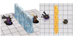 D&D Spell Effects - Wall of Fire & Ice