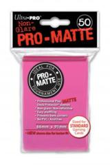 Ultra Pro: Standard Sleeves - Matte Bright Pink (50ct)