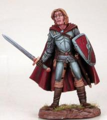 Male Fighter with Sword and Shield DSM-4103