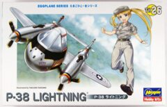Hasegawa Eggplane Series: P-38 Lightning (TH26)