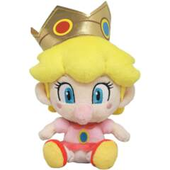 Little Buddy Super Mario All Star Collection Baby Peach Plush, 6