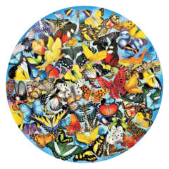 Butterflies in the Round 1000pc Puzzle