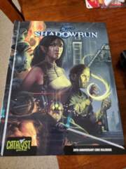 Shadowrun 4th Edition 20th Anniversary Core Rulebook