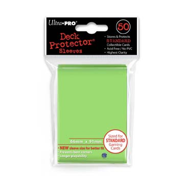 Ultra Pro Standard Sleeves - Lime Green (50ct)