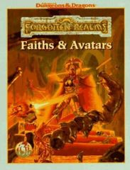 AD&D Faiths and Avatars by Julia Martin (1996, Paperback, Revised)