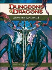 D&D 4th Edition Monster Manual 3
