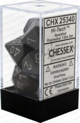 CHX 25340 - 7 Polyhedral Hi-Tech Speckled Dice