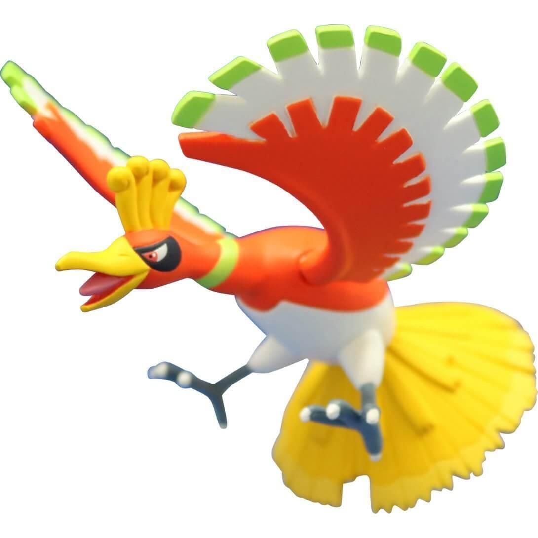 Takaratomy Pokemon EX EHP-17 Ho-oh Figure, 3