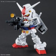 Rx-78-2 Gundam & Cross Silhouette Frame