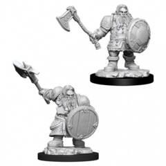 Dungeons & Dragons Nolzur`s Marvelous Unpainted Miniatures: Dwarf Male Fighter