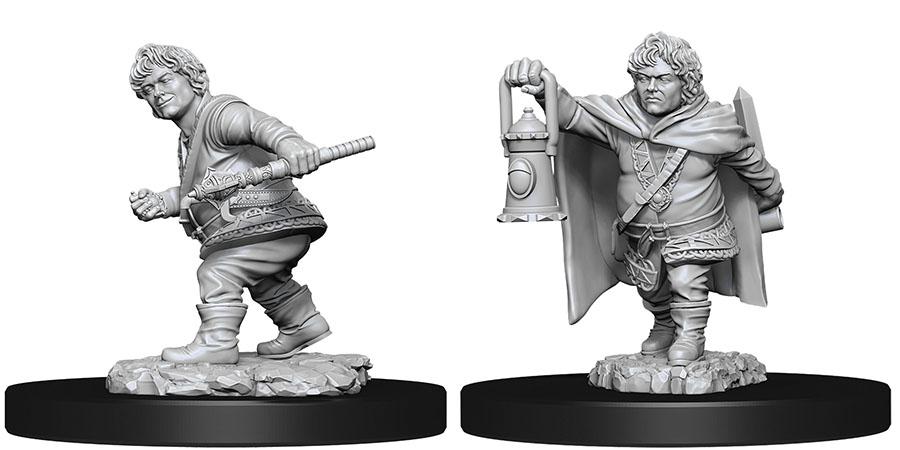 Dungeons & Dragons Nolzur`s Marvelous Unpainted Miniatures: Halfling Male Rogue