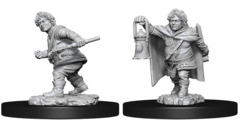 Dungeons & Dragons Nolzur`s Marvelous Unpainted Miniatures: Halfling Male Rogue