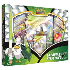 Pokemon Galarian Sirfetchd V Box