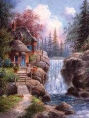 Tranquility Falls 1000pc Puzzle