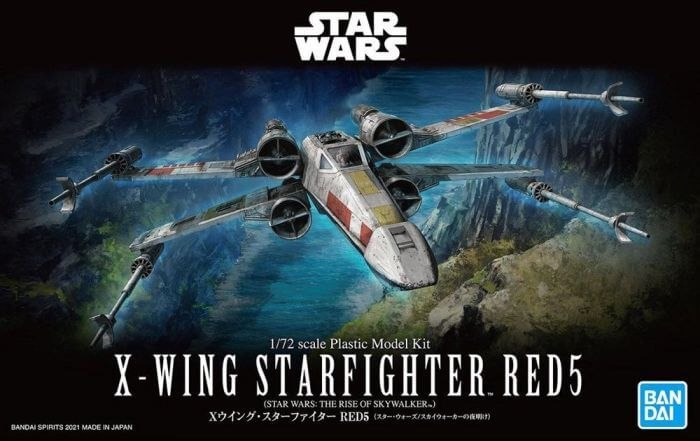 X-Wing Starfighter Red5 (Rise of Skywalker Ver.) Star Wars, Bandai Spirits Hobby Star Wars 1/72 Plastic Model