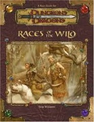 D&D 3.5 - Races of the Wild