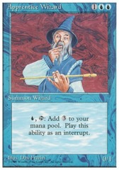 Apprentice Wizard - 4th Edition - Black Border