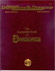 AD&D The Complete Book of Dwarves