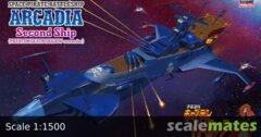 Hasegawa Space Pirate Battleship Arcadia Second Ship (Phantom Death Shadow Conversion)