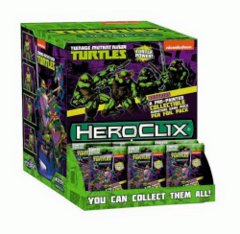 HeroClix - Teenage Mutant Ninja Turtles - Single Figure Booster Pack
