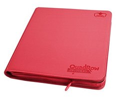 Ultimate Guard QuadRow Zipfolio -  Red