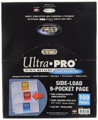 Ultra Pro 82892 9-Pocket Platinum Side Load 100ct Display