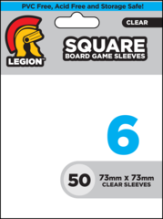 BOARD GAME SLEEVE 6 - SQUARE