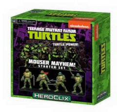 Teenage Mutant Ninja Turtles HeroClix - Mouser Mayhem! Starter Set