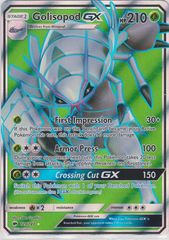 Golisopod-GX - 129/147 - Full Art Ultra Rare