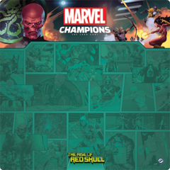 Marvel Champions: Red Skull 1-4 Player Game Mat
