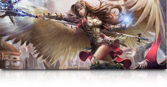Art Table Mat: Avenging Angel 6 ft
