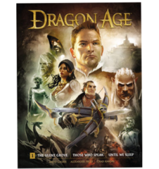 Dragon Age Library Ed Hc Vol 01