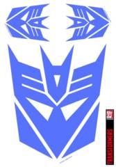 Transformers Decepticon Purple Graphics Set