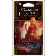A Game of Thrones LCG (2nd) - 2016 World Championship Deck
