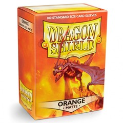 Dragon Shields (100) Matte Orange