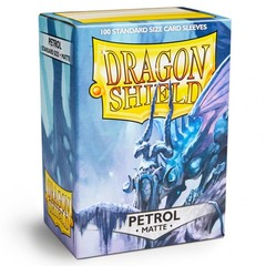 Dragon Shields (100) Matte Petrol