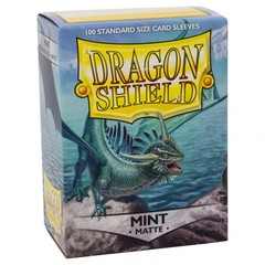 Dragon Shields (100) Matte Mint