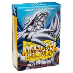 Dragon Shields Japanese: (60) Matte Silver