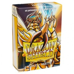 Dragon Shields Japanese: (60) Matte Gold
