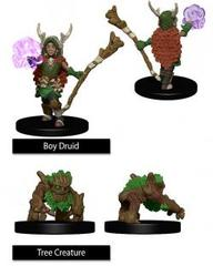 WizKids Wardlings: Boy Druid With Tree Companion
