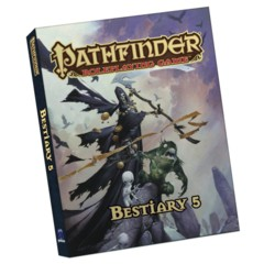 Pathfinder Bestiary 5 Pocket Edition