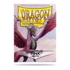 Dragon Shields (100) Matte Pink