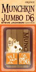 Munchkin Jumbo d6 Orange