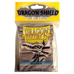 Dragon Shields Mini Silver (50)