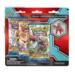 Mega Scizor and Shiny Mega Gyarados 3 Pack with Pin