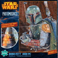 Photomosaic - Star Wars Boba Fett Puzzle (1000 pieces)